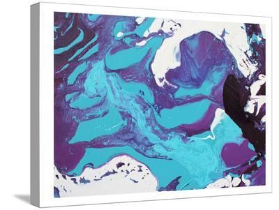 Blue Marble-Deb McNaughton-Stretched Canvas Print