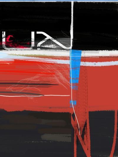Blue Mark-NaxArt-Art Print