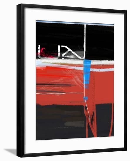 Blue Mark-NaxArt-Framed Art Print