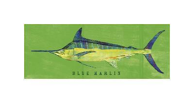 Blue Marlin-John Golden-Giclee Print