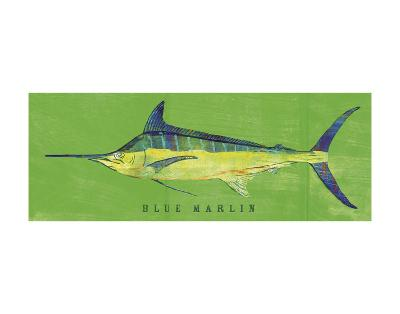 Blue Marlin-John W^ Golden-Art Print