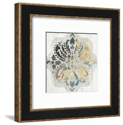 Blue Medallion-PI Creative Art-Framed Art Print