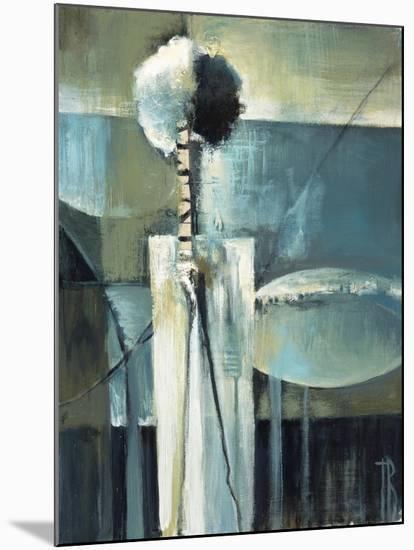 Blue Modern II-Terri Burris-Mounted Art Print