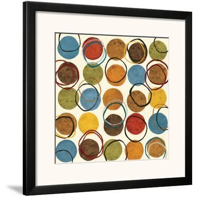 Blue Monday I-Jeni Lee-Framed Art Print