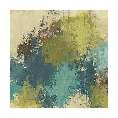 Blue Monday II-June Erica Vess-Art Print