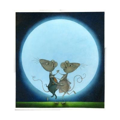 Blue Moon, 2009-Wayne Anderson-Giclee Print