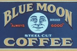 Blue Moon Coffee Label