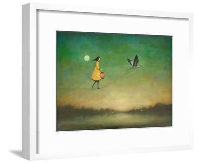 Blue Moon Expedition-Duy Huynh-Framed Art Print
