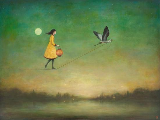 Blue Moon Expedition-Duy Huynh-Premium Giclee Print