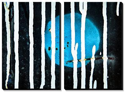 Blue Moon-Ursula Abresch-Canvas Art Set