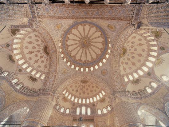 Blue Mosque, Istanbul, Turkey-Jon Arnold-Photographic Print