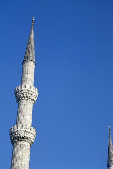 Blue Mosque, Minaret, 17th Century, Istanbul, Turkey--Photographic Print
