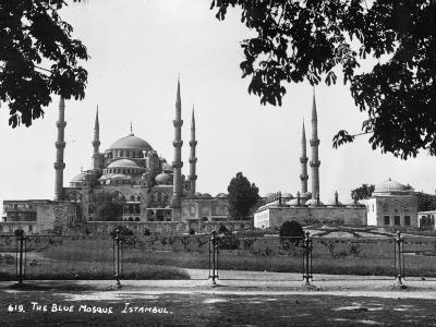 Blue Mosque--Photographic Print