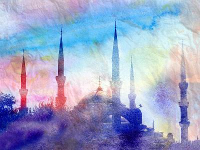 Blue Mosque-tanor27-Art Print