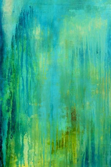Blue Mountain Rain I-Erin Ashley-Art Print