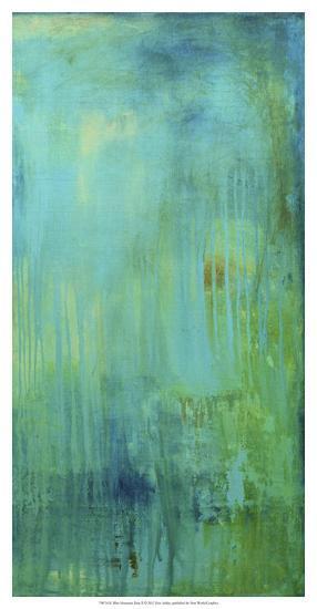 Blue Mountain Rain II-Erin Ashley-Giclee Print