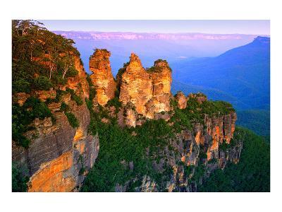 Blue Mountains Nsw Australia--Art Print