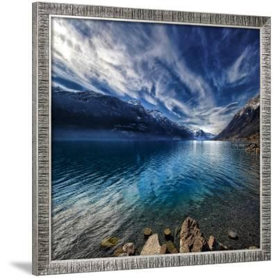 Blue Mountains-Philippe Sainte-Laudy-Framed Photographic Print