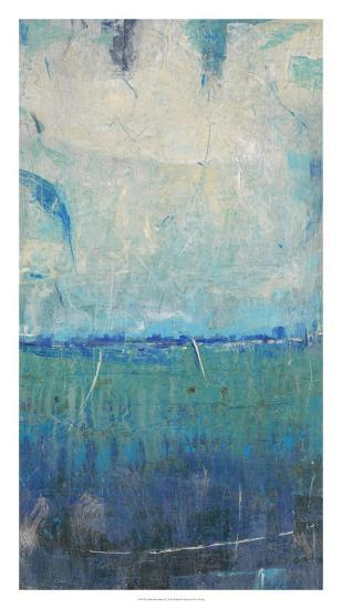 Blue Movement I-Tim O'toole-Art Print