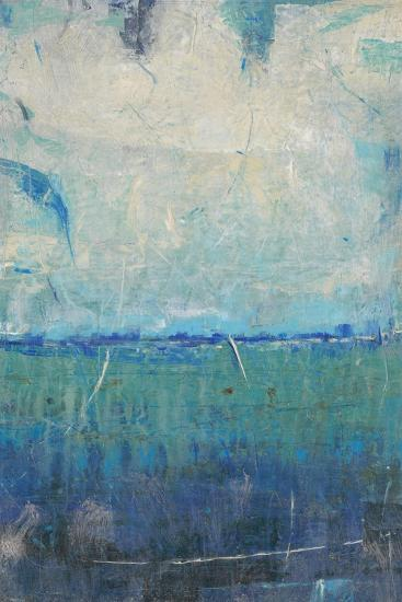 Blue Movement I-Tim OToole-Art Print