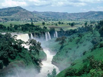 Blue Nile Falls, Near Bahar Dar, Bahar Dar, Ethiopia-Bethune Carmichael-Photographic Print