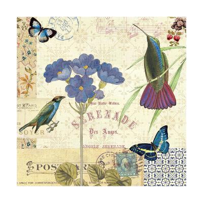 Blue Notes II-Pela Design-Art Print