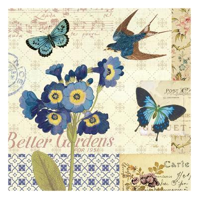 Blue Notes IV-Pela Design-Premium Giclee Print