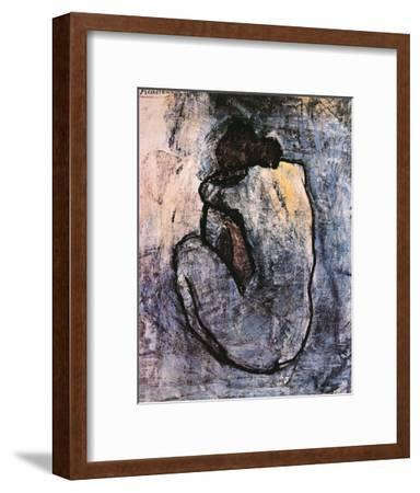 Blue Nude, c.1902-Pablo Picasso-Framed Art Print