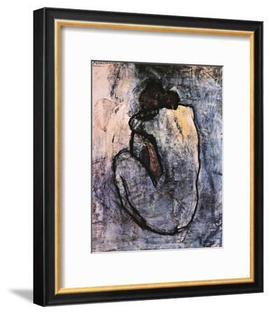 Blue Nude, c.1902-Pablo Picasso-Framed Art Print