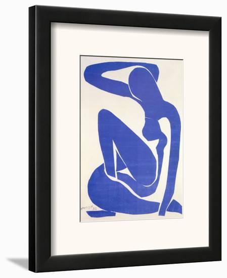 Blue Nude I, c.1952-Henri Matisse-Framed Art Print