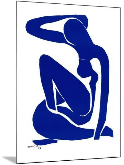 Blue Nude I, c. 1952-Henri Matisse-Mounted Print