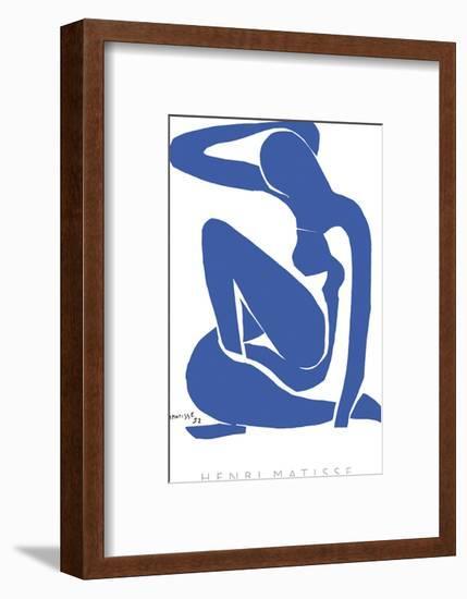 Blue Nude I-Henri Matisse-Framed Art Print