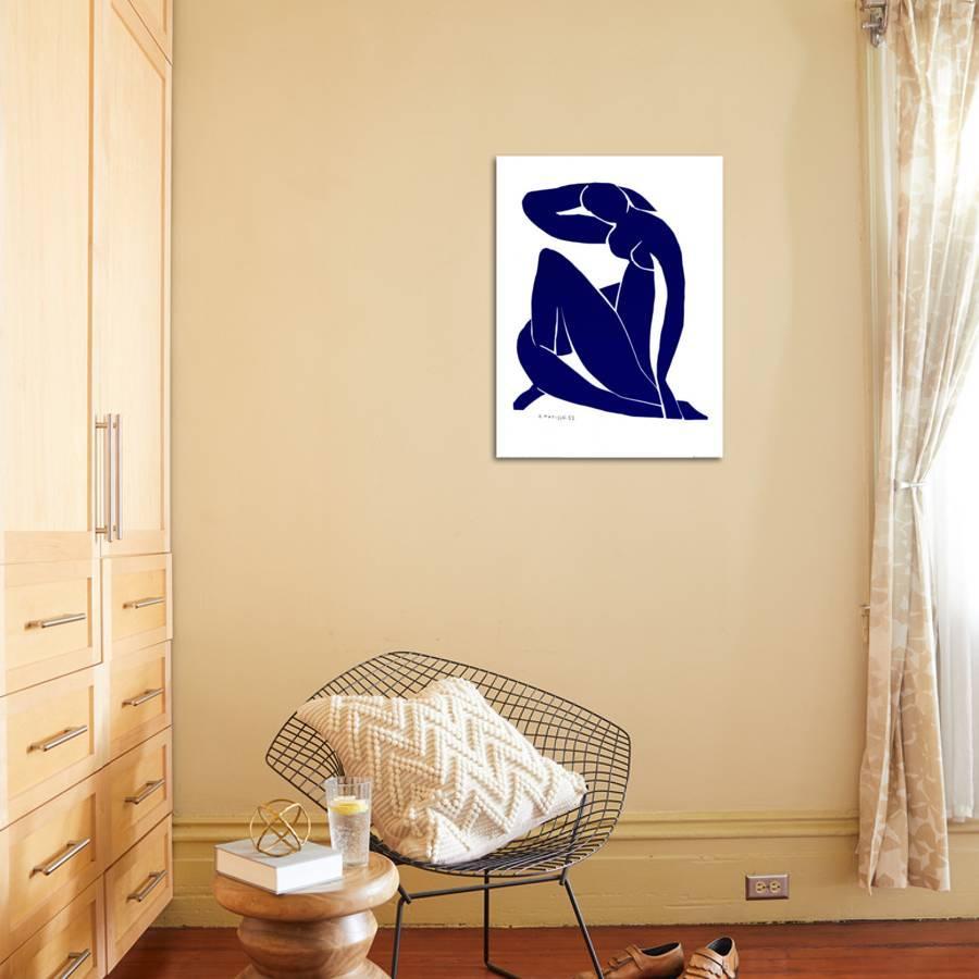 Blue Nude II Art Print by Henri Matisse | Art.com