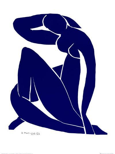 Blue Nude II-Henri Matisse-Art Print