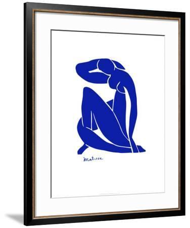Blue Nude-Henri Matisse-Framed Art Print