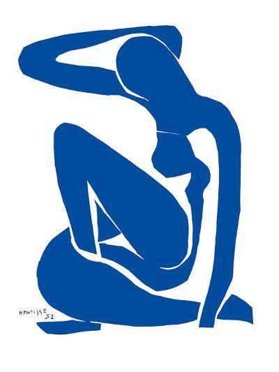 Blue Nude-Henri Matisse-Art Print