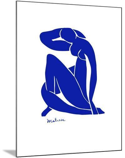 Blue Nude-Henri Matisse-Mounted Print