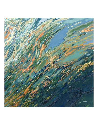 Blue Ocean Sunset-Margaret Juul-Art Print