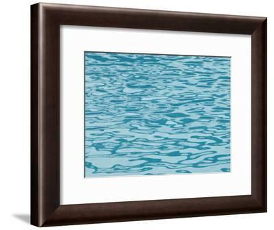 Blue Ocean Water with Gentle Ripples-Tom Murphy-Framed Photographic Print