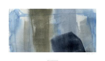 Blue on Grey I-Jennifer Goldberger-Limited Edition