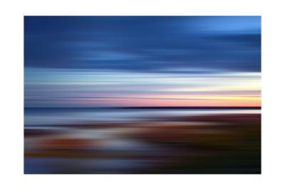 Blue on the Horizon-Andrew Michaels-Photographic Print