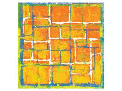 Blue Over Orange-Carmine Thorner-Art Print