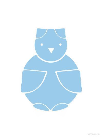 Blue Owl-Avalisa-Art Print