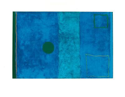 Blue Painting-Patrick Heron-Serigraph