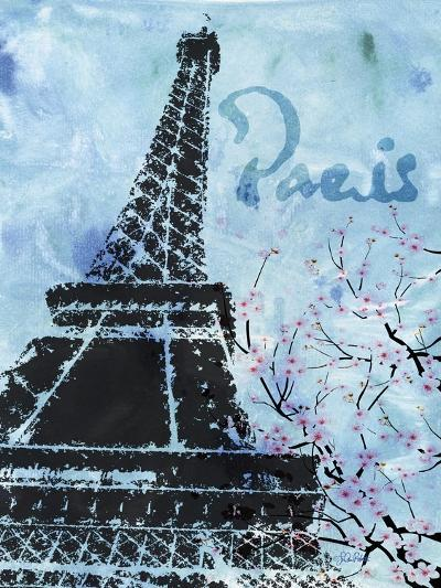 Blue Paris-LuAnn Roberto-Art Print