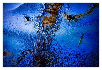 Blue Pathway II-Jean-Fran?ois Dupuis-Art Print