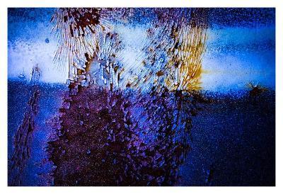 Blue Pathway III-Jean-Fran?ois Dupuis-Art Print