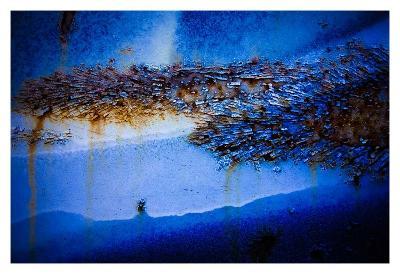 Blue Pathway IV-Jean-Fran?ois Dupuis-Art Print