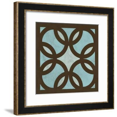 Blue Patterns I-N^ Harbick-Framed Art Print