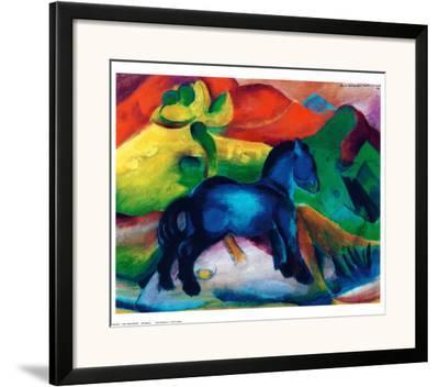Blue Ponny-Franz Marc-Framed Art Print